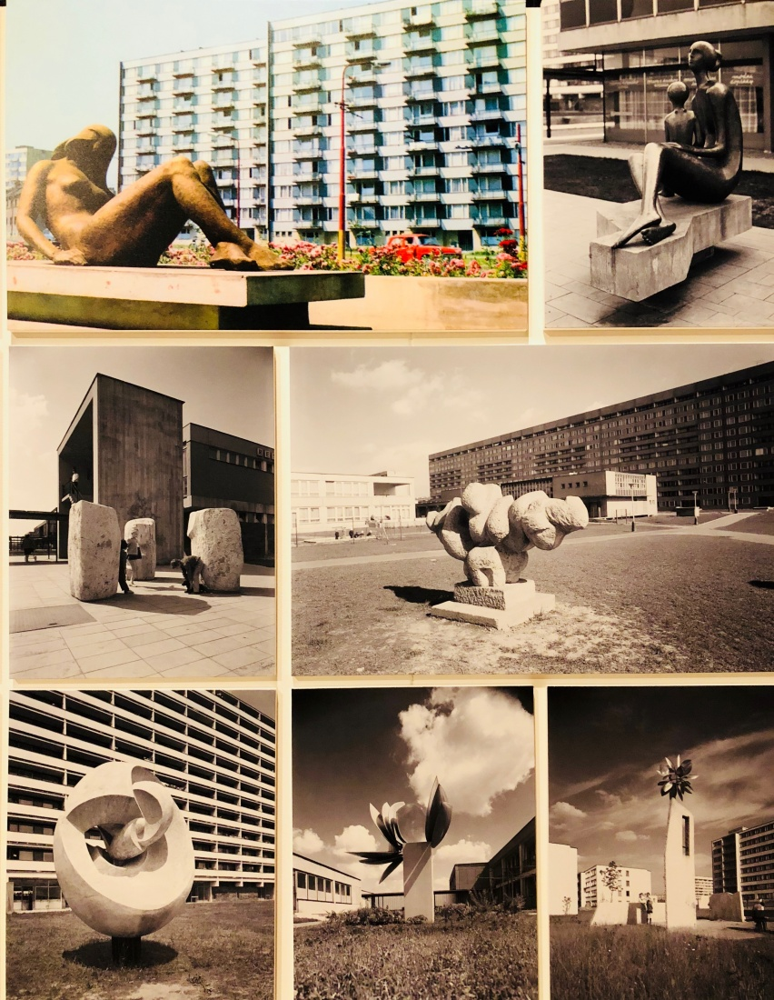 Various public housing estates around the Czechoslovak region from the 1960s, showing off elements of the 'Beautiful Phase' of Communist Architecture.