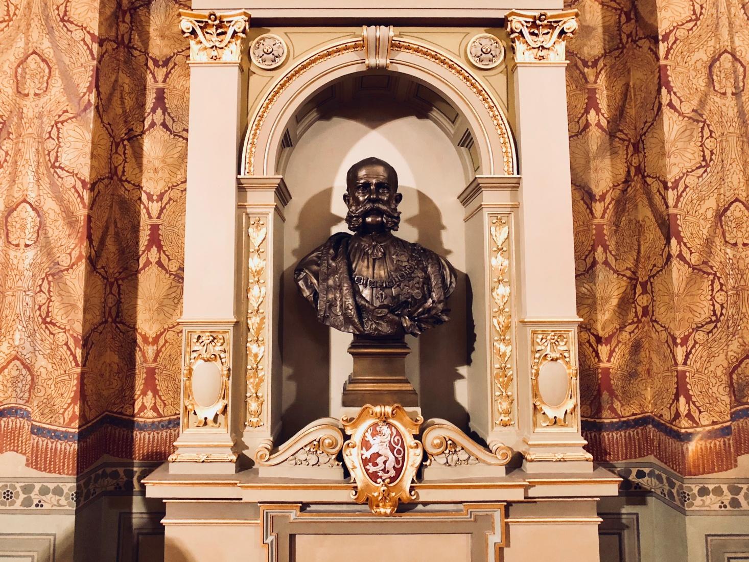 Bust of Austro-Hungarian Emperor Franz Joseph I.