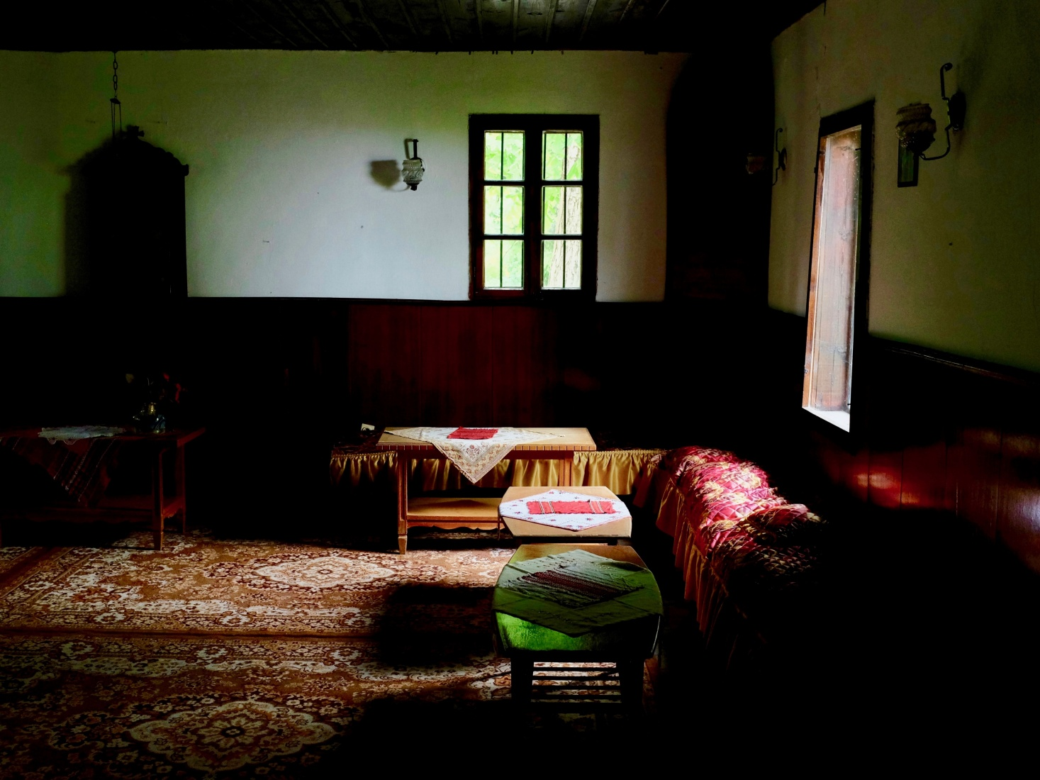 A contemplation room in the Cherepish monastery in northern Bulgaria.