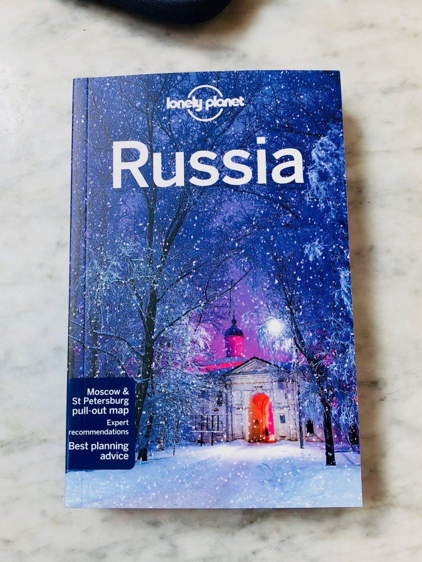 Lonely Planet Russia guidebook.