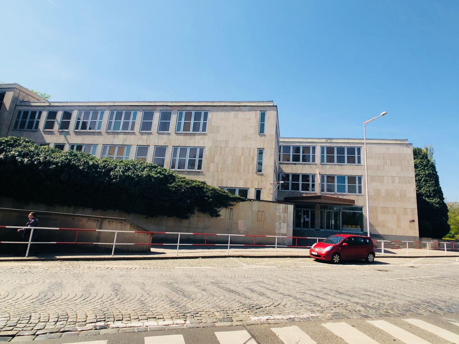 Russian school in Prague, Bubeneč, off Siberia Square, Sibiřské náměstí.
