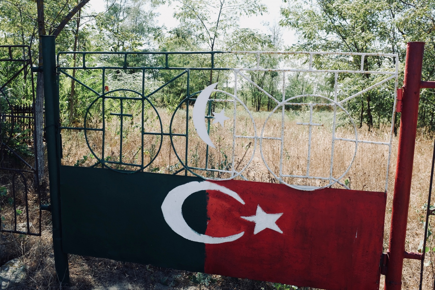 The Ottoman section of Sulina, Romania's diverse cemetery, closed.