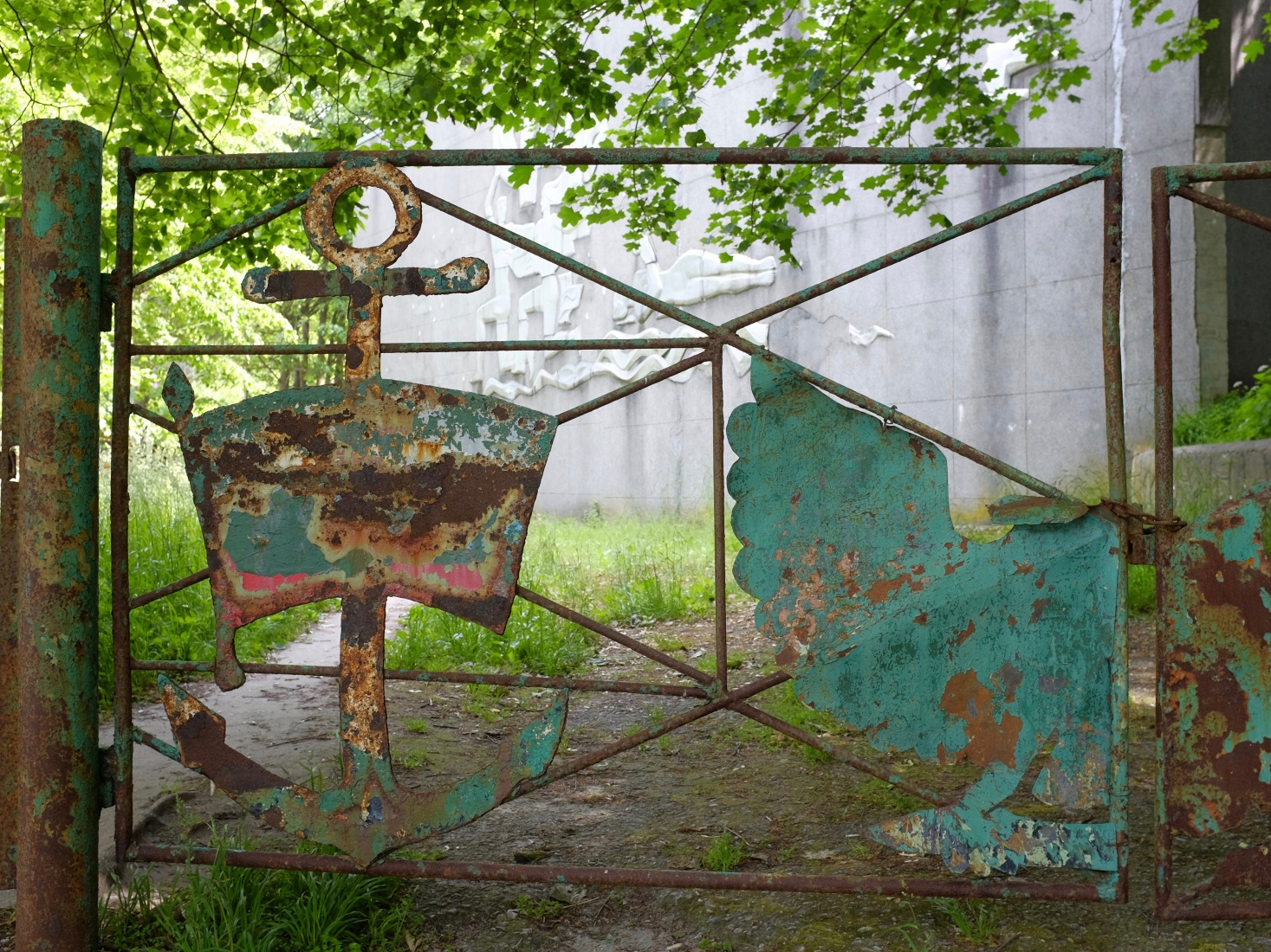 Abandoned Soviet club or restaurant in the spa town of Svetlogorsk, near Kaliningrad, Russia.