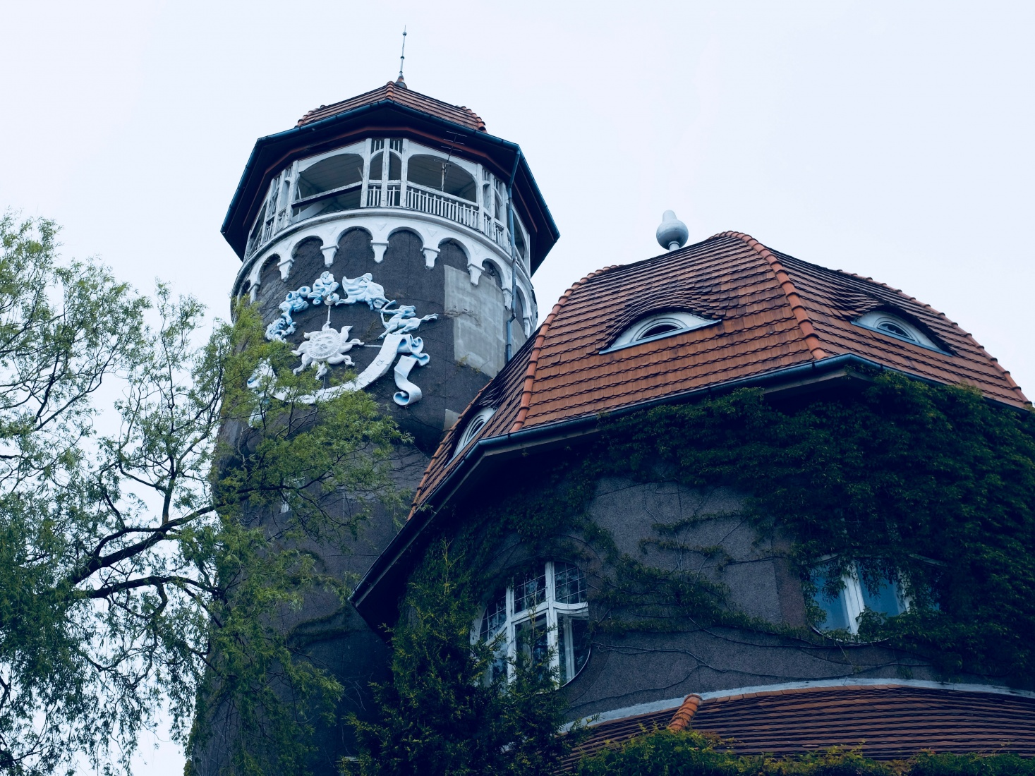The old fin de siècle Water Tower in Svetlogorsk, displaying Art Nouveau influence, near Kaliningrad, Russia.