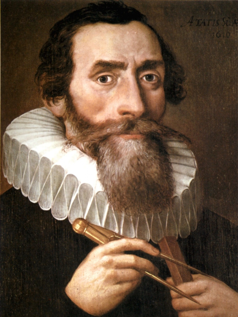 Johannes Kepler by an unidentified painter. Photo credit: public domain via Wikimedia Commons.