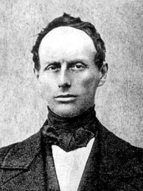 Portrait of Christian Doppler in the mid-19th century by unknown - http://www.scientificlib.com, Public Domain.