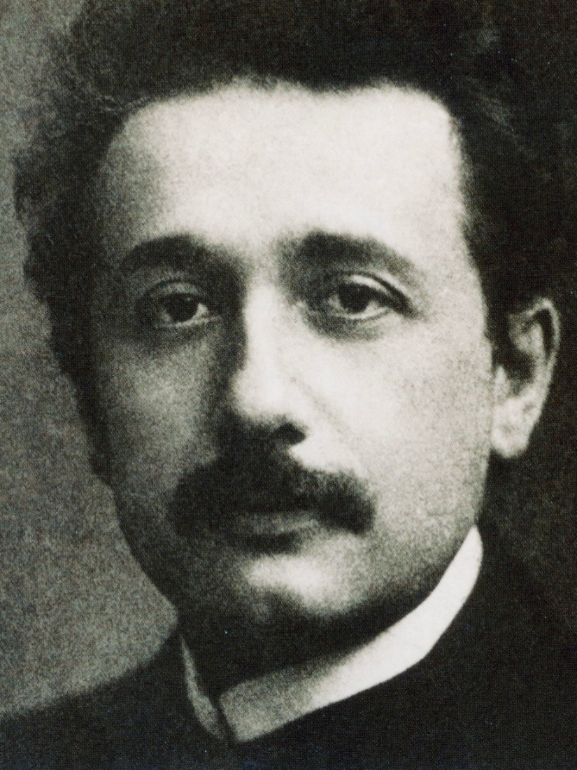 Albert Einstein, pictured here sometime around 1911, around the time he lived in Prague. Photo credit: Wikipedia commons.