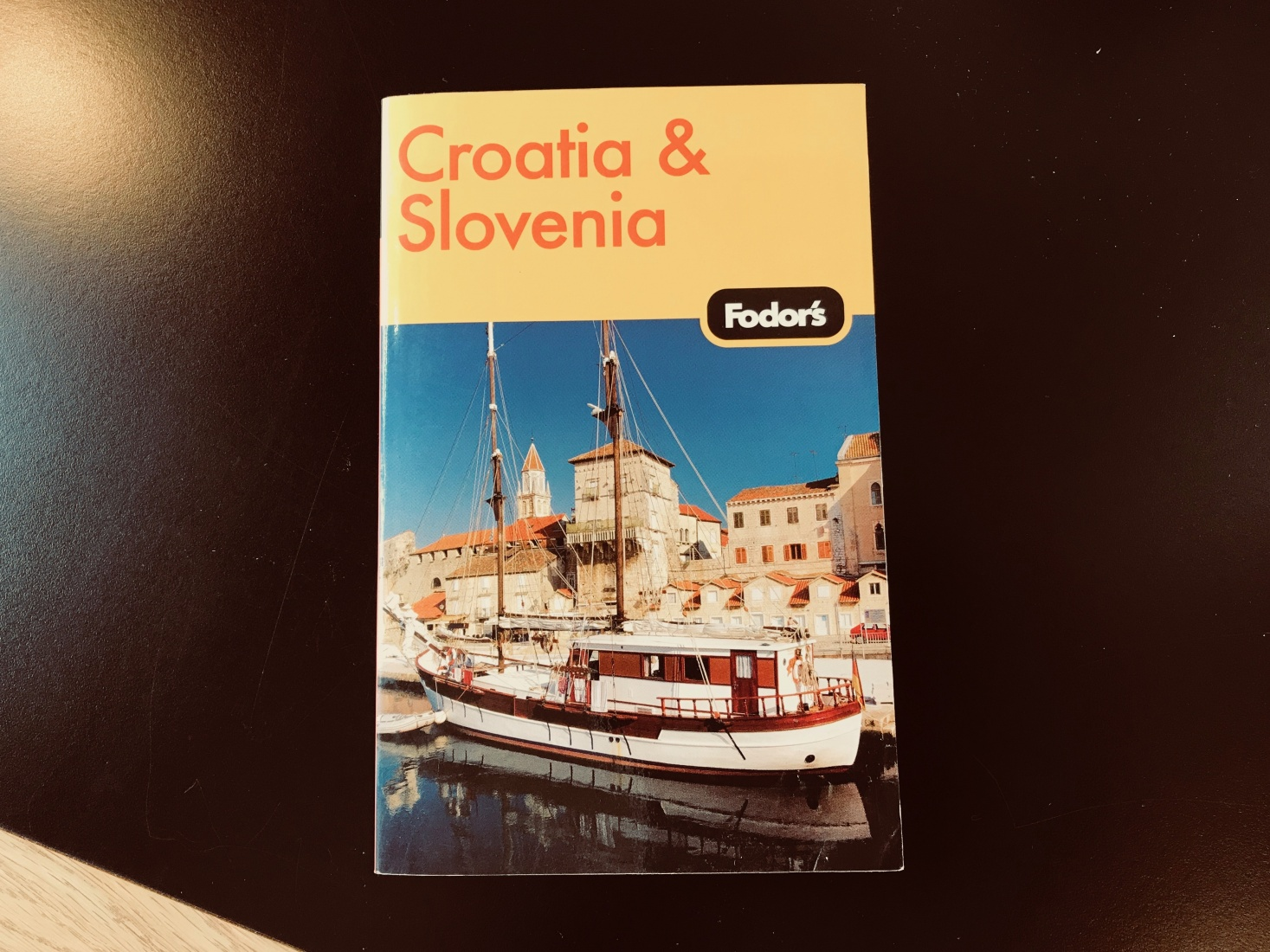 The first guidebook of Mark Baker's travel writing career, the 2006 edition of 'Fodor's Guide to Croatia and Slovenia.'