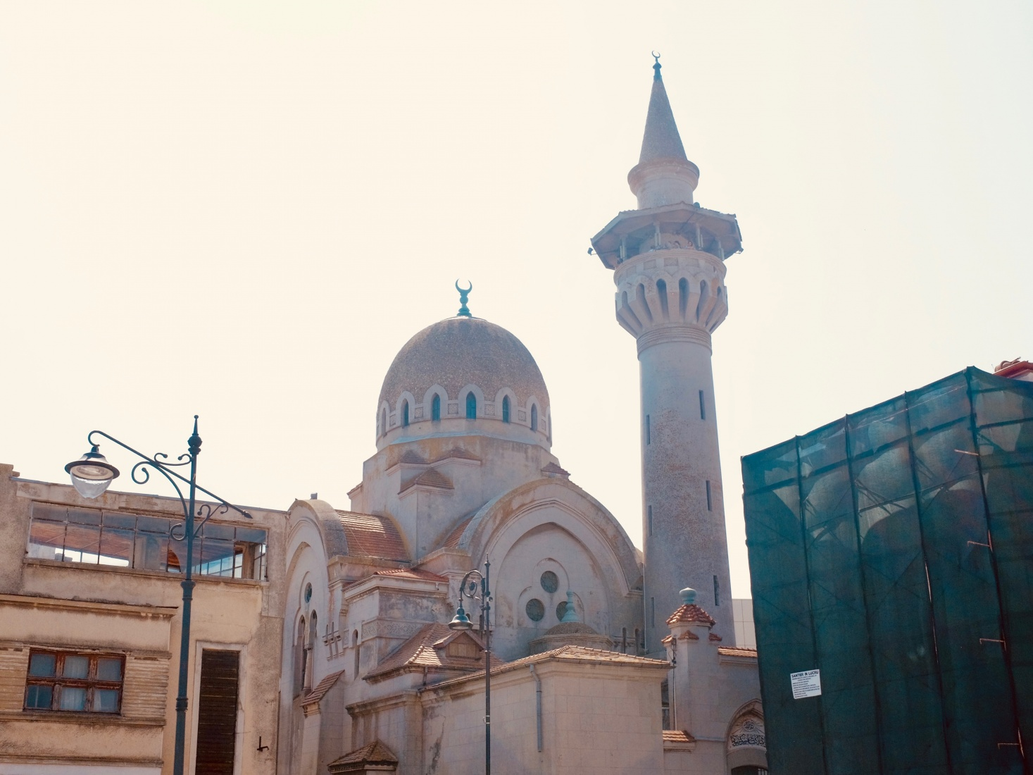 The Great Mosque of Constanța, Romania.