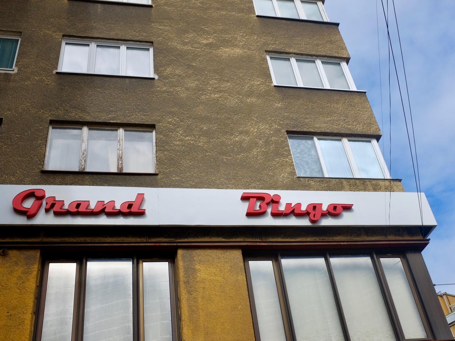 Communist-era architecture in Bratislava, Slovakia.