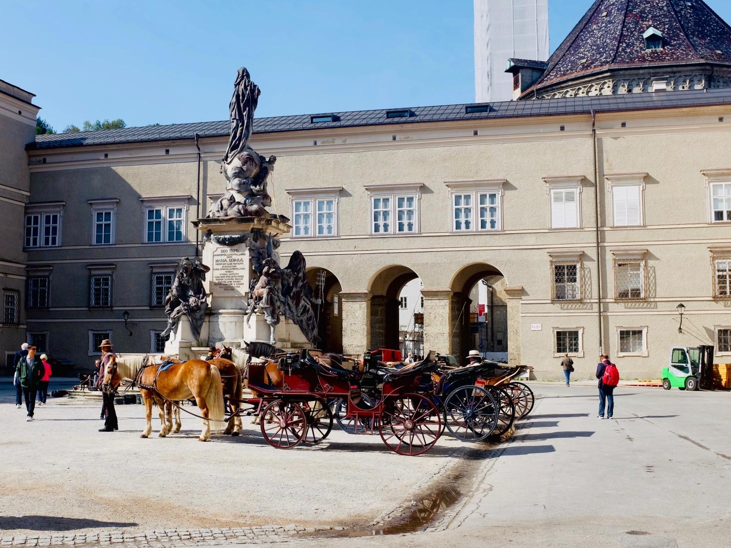 Central Salzburg, Austria.