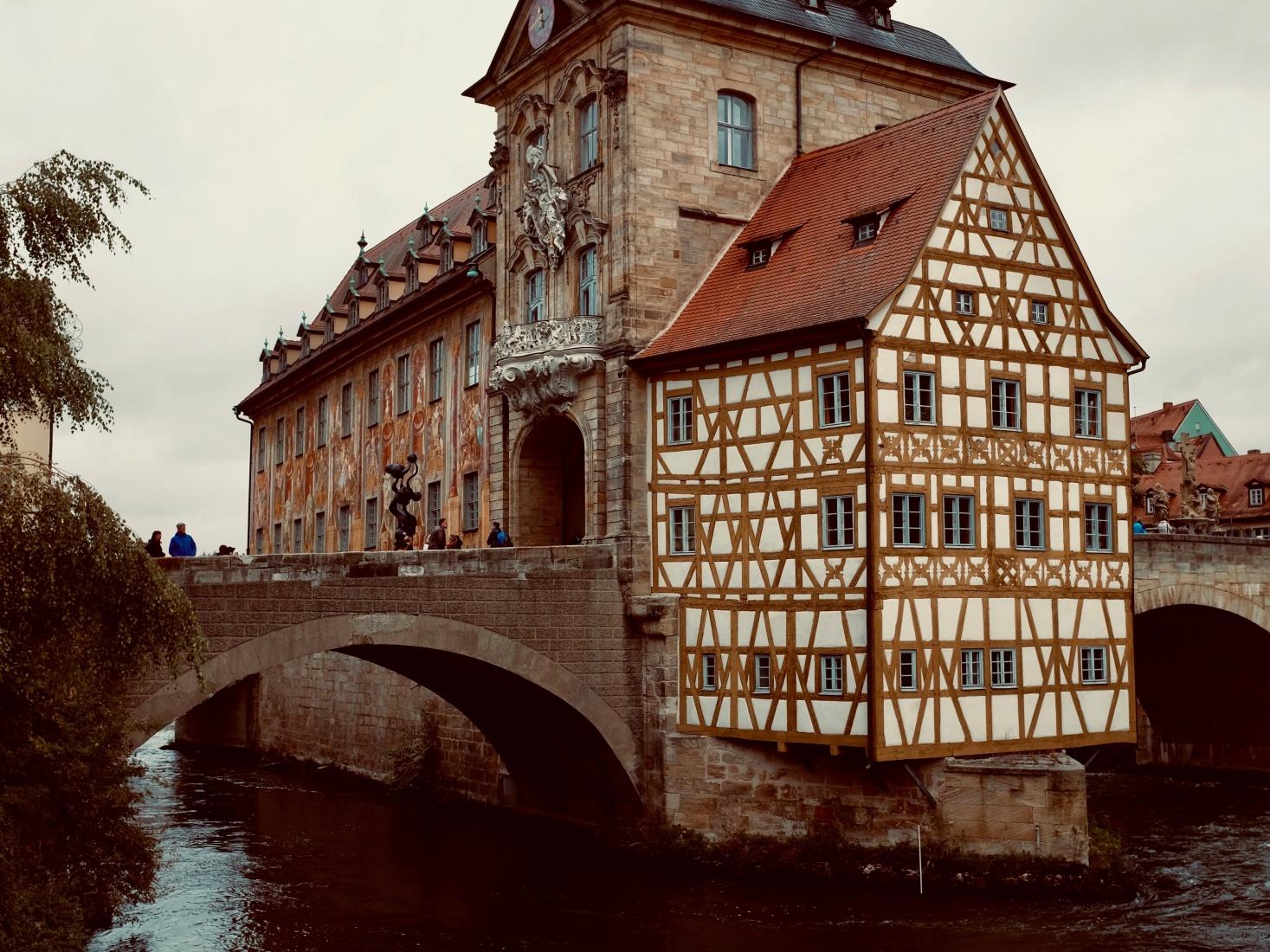 Bamberg, Germany, near the Main River.